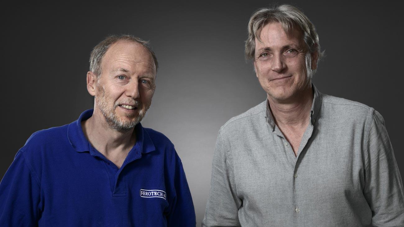 Ferotech AG Inhaber / Geschäftsführer Markus Schneider und Albert Walcher