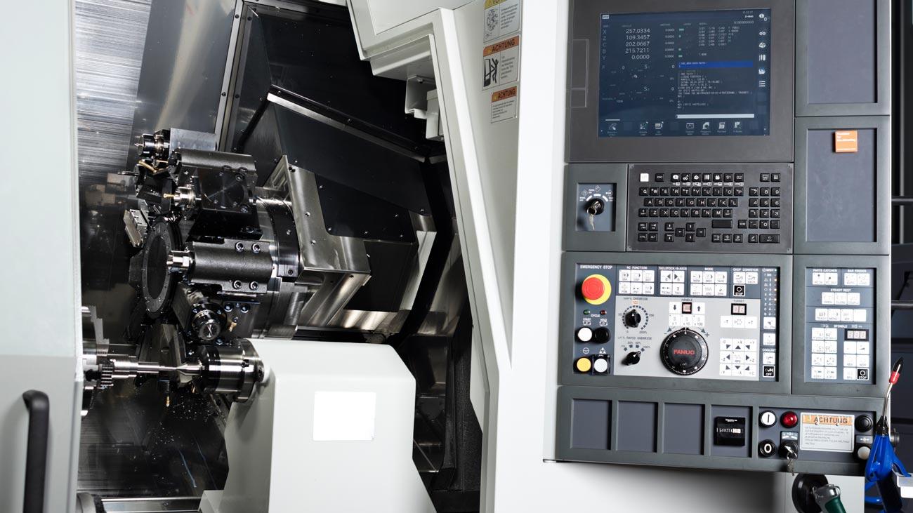 CNC gesteuert für höchste Präzision